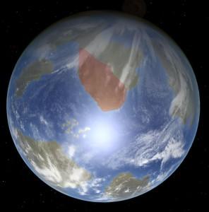 Cascadia on Globe