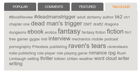 Fantasy Fiction for Gamers and Role Players
